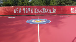 New York Redbulls US Soccer Futsal Court in Newark, NJ