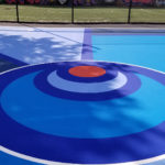 Outdoor court at Dunlevy Milbank Center in New York, NY