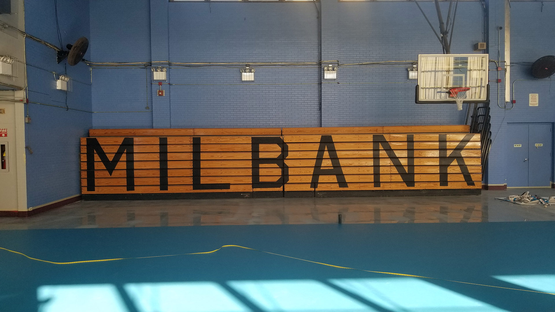 Indoor court at Dunlevy Milbank Center in New York, NY